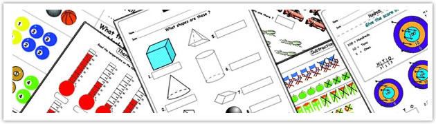 math worksheet : math exercises for children  kizmath  : Interactive Math Worksheets
